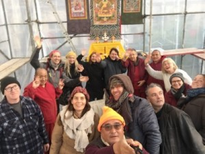 volunteers-in-stupa-tent